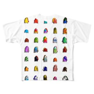 アマビエ 木原幸志郎 Full graphic T-shirts