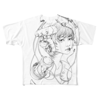 retlo future 1 Full graphic T-shirts