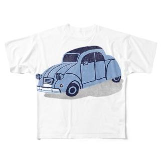 Citroen CV Full graphic T-shirts