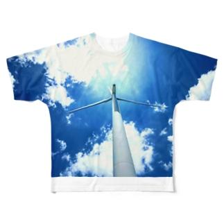 空と風 Full graphic T-shirts