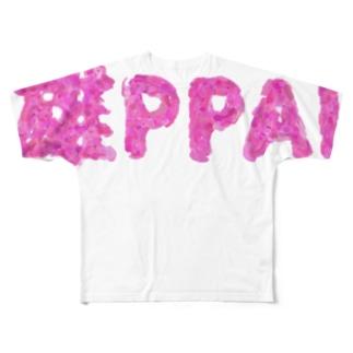 雄PPAIシリーズ2 Full graphic T-shirts
