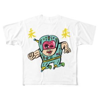 未来くんBOY Full graphic T-shirts
