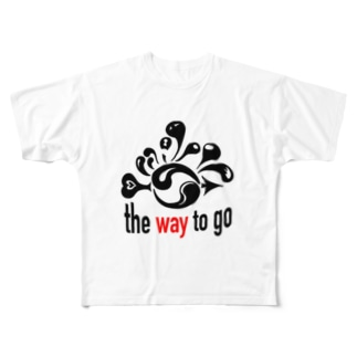 The Way To Go Full graphic T-shirts