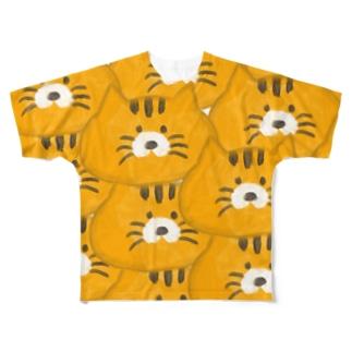 おこらないネコ はなたん  Full graphic T-shirts
