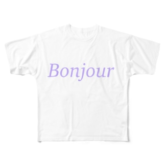 Bonjour Full graphic T-shirts