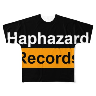 Haphazard Records Goods Full graphic T-shirts