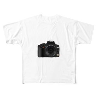 TK-marketのカメラ Tシャツ Full graphic T-shirts