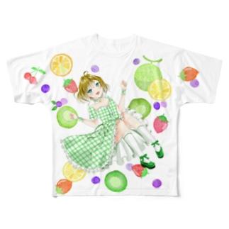 池袋1周年記念Tシャツ② Full graphic T-shirts