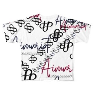 Wメビウスの輪 33 Full graphic T-shirts