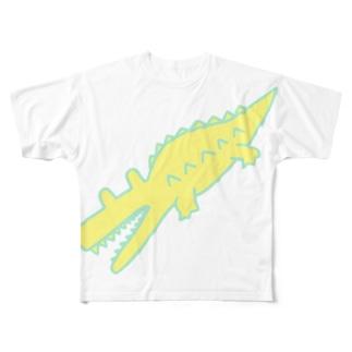 BIG WANI lemon Full graphic T-shirts