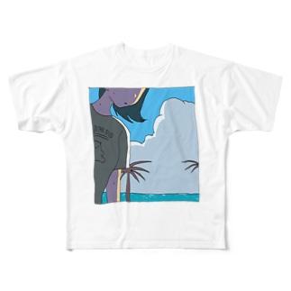 夏 Full graphic T-shirts
