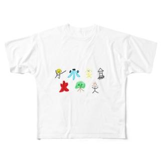 ウィ一クリ一ブラザーズ Full graphic T-shirts