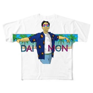 DAIMON Full graphic T-shirts