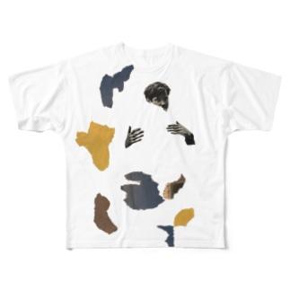 ハグやまさん Full graphic T-shirts