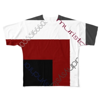 アイムカラー Full graphic T-shirts