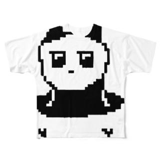 っょぃパンダ Full graphic T-shirts