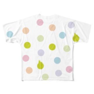 "La HIKACO Original ""Polka dot"" Full graphic T-shirts"
