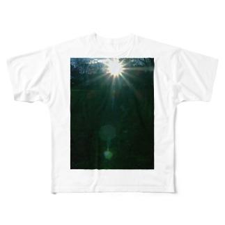 アマテラス ささやくもの DATA_P_149 太陽の輝き Full graphic T-shirts