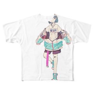 いのちてゃ Full graphic T-shirts