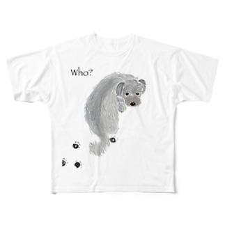 tabiharuのwho? Full graphic T-shirts