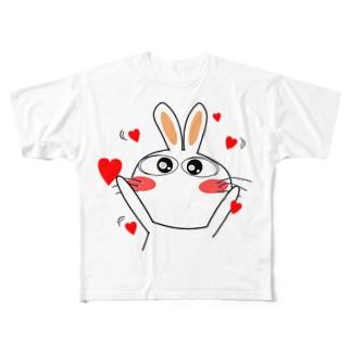 らぶぽよ~ Full graphic T-shirts