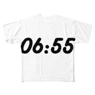 起きる時間.pptx design Full graphic T-shirts