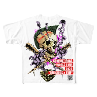 【ライブ会場刻印版】KOMEHATISOBA WORLD TOUR 2020【FGT】 Full graphic T-shirts