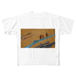 RUN!!!!! Full graphic T-shirts