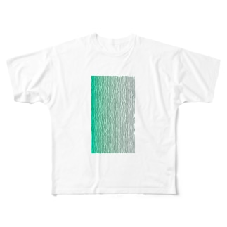 Wave Full graphic T-shirts