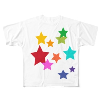 autunnoの星! Full graphic T-shirts