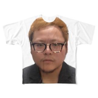 塩崎 Full graphic T-shirts