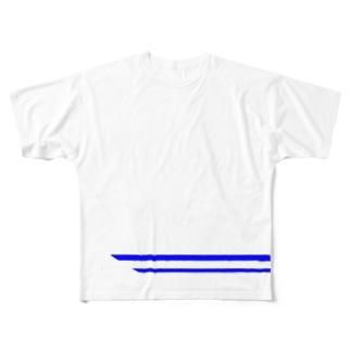 新幹線・望 Full graphic T-shirts