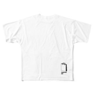 お持ち帰りOK! Full graphic T-shirts
