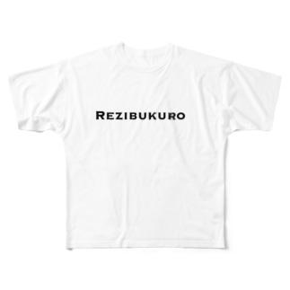 Rezibukuro Full graphic T-shirts