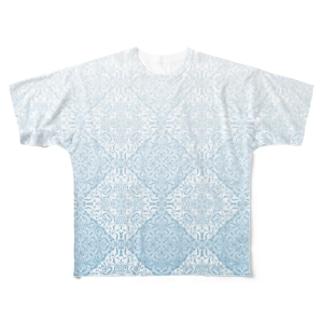 模様 Full graphic T-shirts
