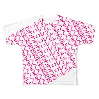 とてもほしい! Full graphic T-shirts