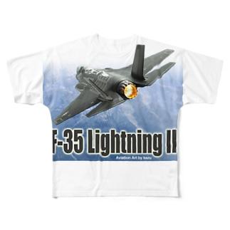 F-35 ライトニング II Full graphic T-shirts