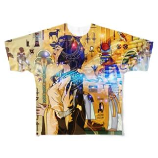 ヒエログリフ Full Graphic T-Shirt
