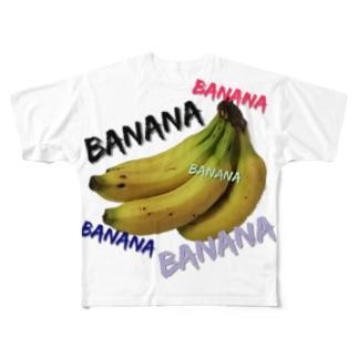 BANANA🍌 Full graphic T-shirts