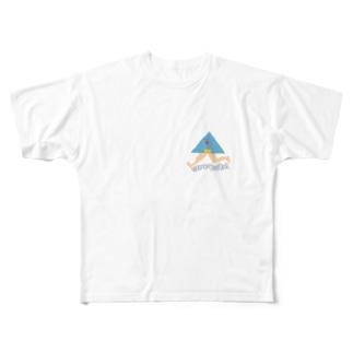 さんかくざきさん Full graphic T-shirts