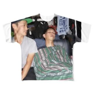 オヤスミバンダム Full graphic T-shirts