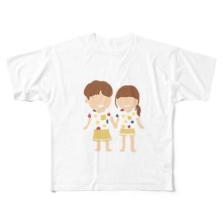 カップル Full graphic T-shirts