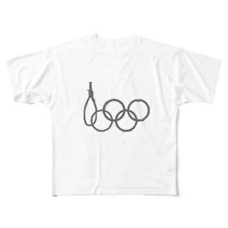 著作権ギリギリアウト疑惑 Full graphic T-shirts