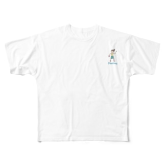 ジュエちゃん Full graphic T-shirts