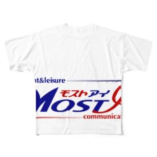 モストアイロゴ(イベント&レジャー) Full graphic T-shirts