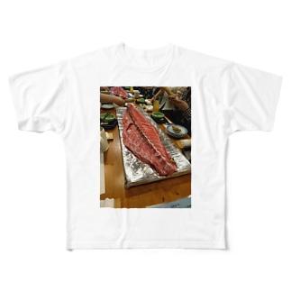 イケてる肉 Full graphic T-shirts