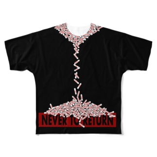 never to return フル Full graphic T-shirts