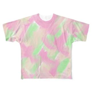 GINZA Full graphic T-shirts