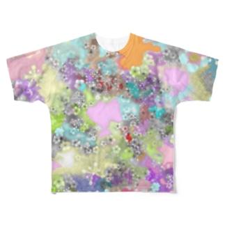 自由 Full graphic T-shirts