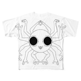 ぬべらもっちょん・てぃーしゃつ Full graphic T-shirts